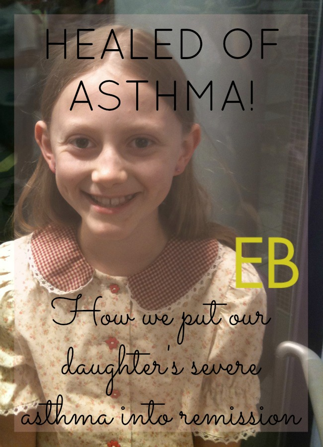 In conclusion, our doctor told us during our one appointment with him that our daughter's case was a serious case of asthma and that it might take him as long as 2-4 months to put it into remission. Can you believe that prognosis compared with what we all experience with other practitioners?, (who, by the way, I don't blame; they just don't know what he knows). He offered to us what we'd been searching for.