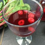 beet kvass with sea salt