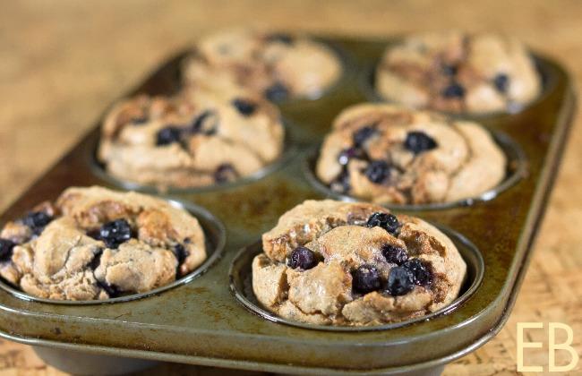 Blueberry Muffins Paleo GAPS
