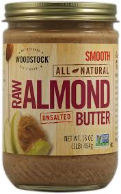 almond butter jar images
