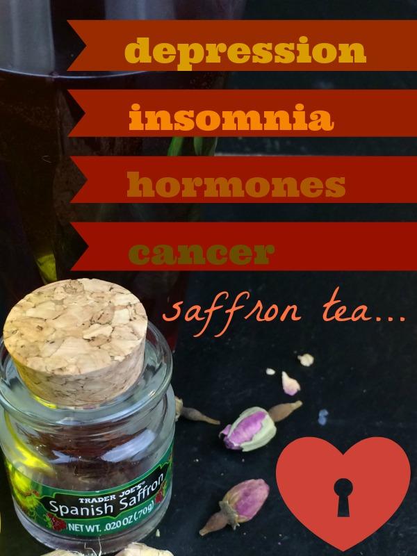 how to make saffron tea with milk