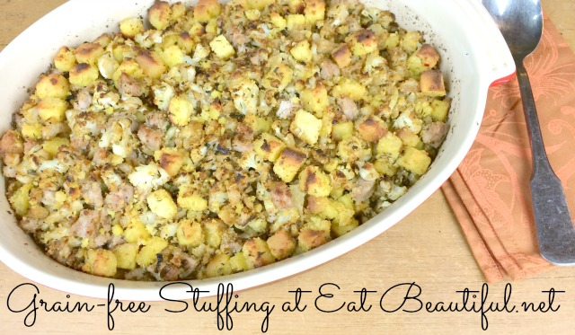 Grain-free Stuffing recipe