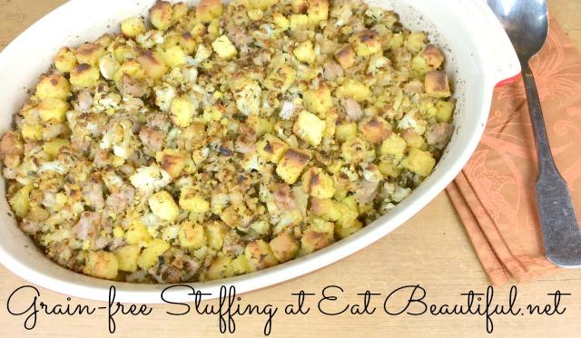 Grain-free Stuffing recipe
