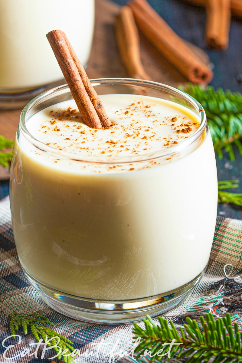 Real Food Eggnog Recipe Dairy Free Option Paleo Low Carb Eat Beautiful