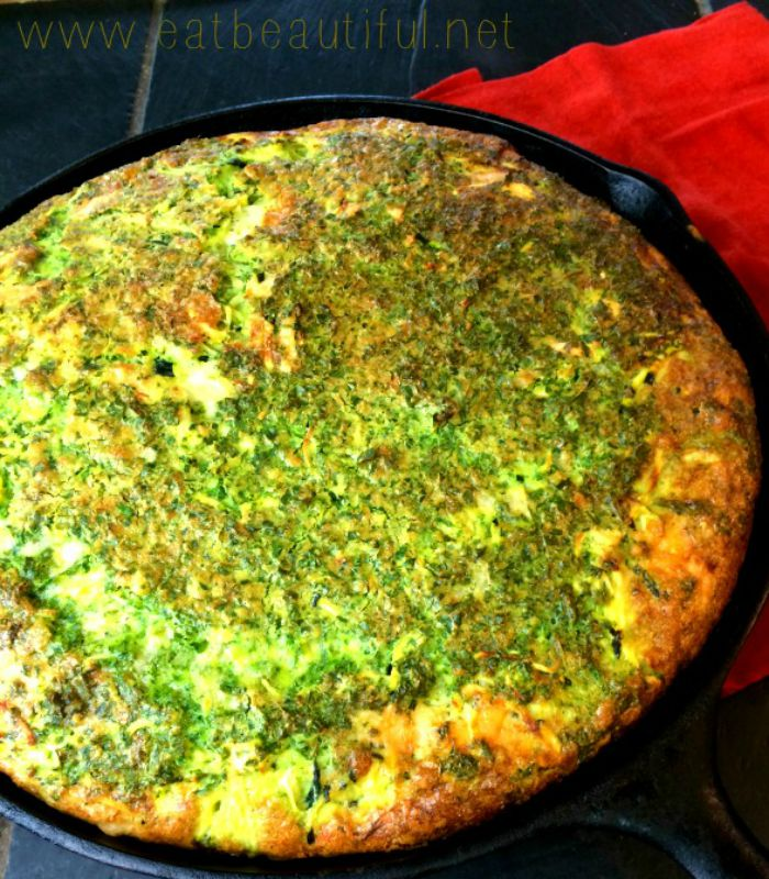 Crustless Quiche with Kale, Zucchini and Garlic - Eat ...
