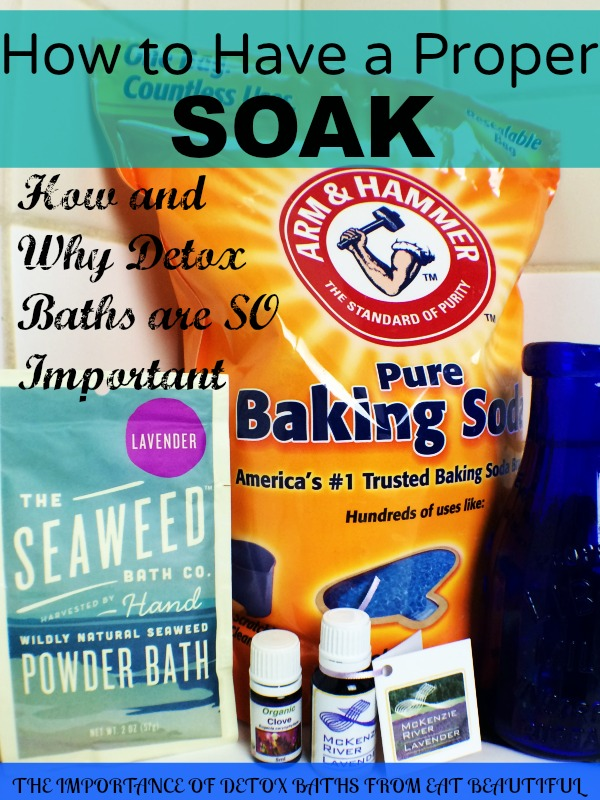 Buy BAKING SODA in bulk from Costco or some other supplier. You'll literally use 1-3 cups of the healing powder in every bath. Use 1 cup for children and 3 cups for adults. Baking soda is an anti-fungal with cleansing properties. It helps your skin to have the proper pH.