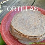 stack of chia-flax tortillas