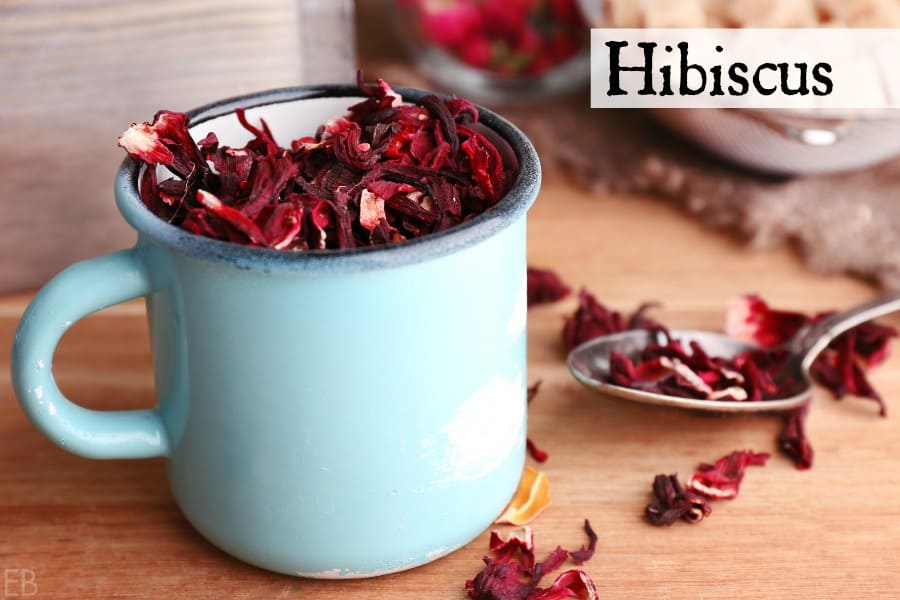 hibiscus with yellow dock tea for anemia