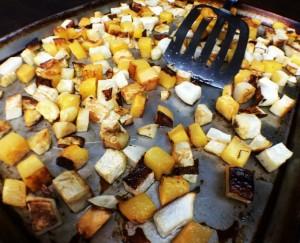 roasted tri-veggies~ Salade Nicoise