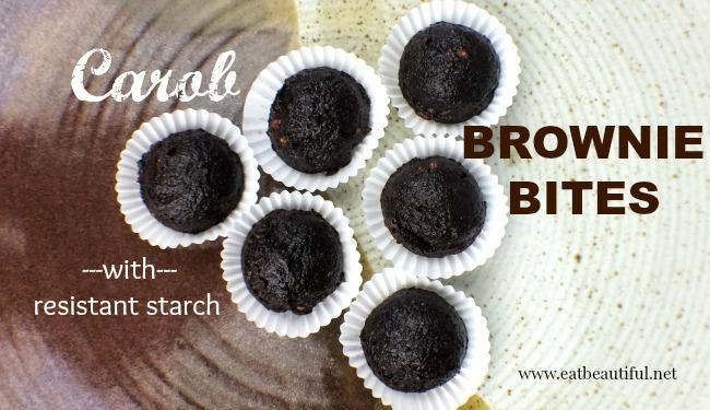 Carob Brownie Bites