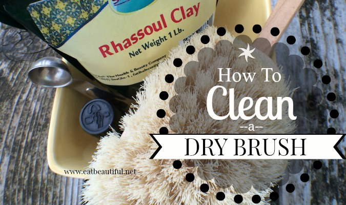How to Clean a Dry Brush