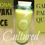 Traditional Cultured Teriyaki Sauce