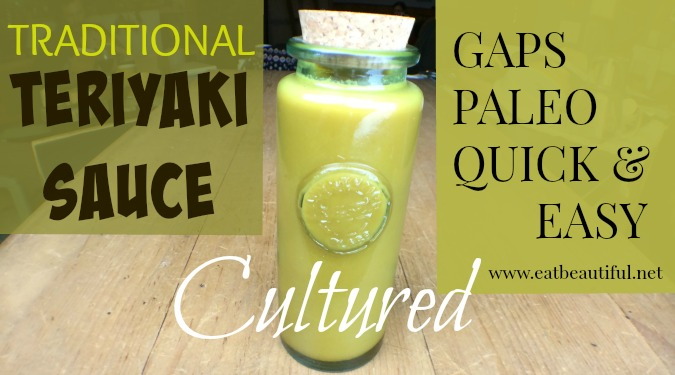Traditional Cultured Teriyaki Sauce