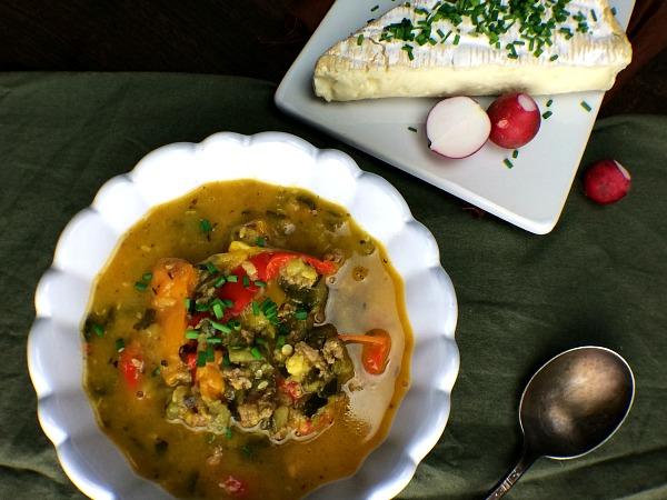 Zucchini Chorizo Butter Stew