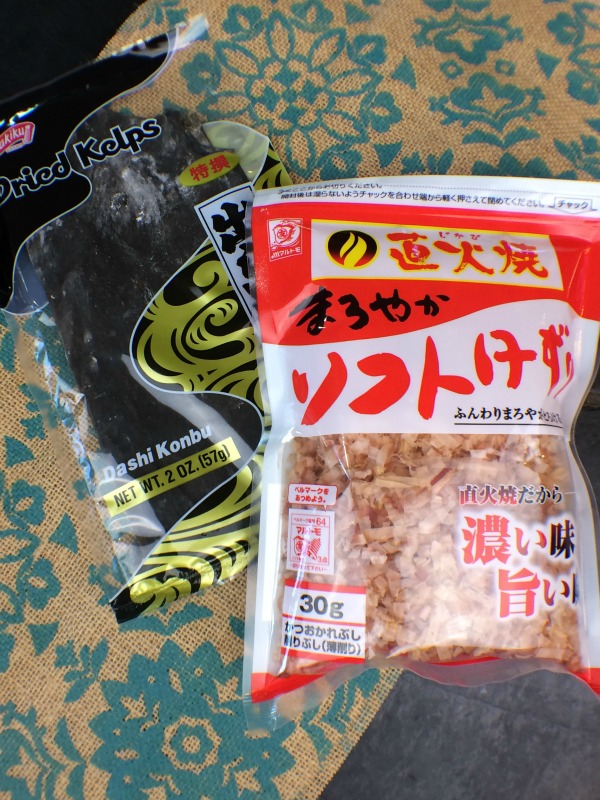 Each portion of bonito flakes used to make broth can be used twice, once for a mild broth, and a second time for a richer, darker broth. Very economical. The recipe I provide includes kombu as an optional ingredient, if you want the Asian flavor and added nutrition. In traditional Japanese cooking these almost sacred broths, that serve as the foundation for almost all their dishes, are called first dashi and second dashi.