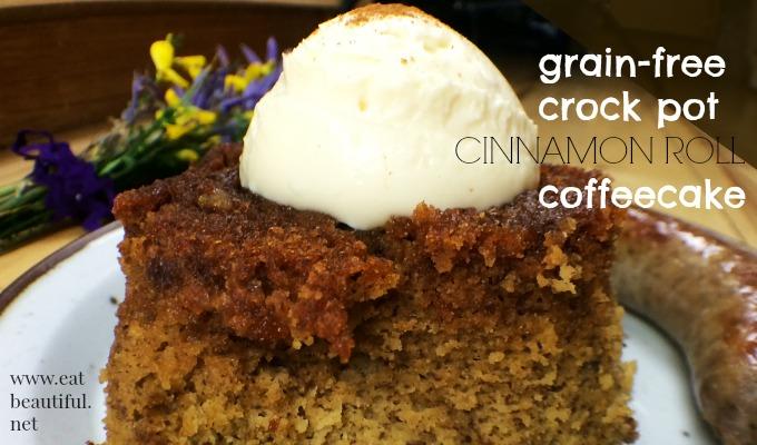 crock pot cinnamon roll coffeecake