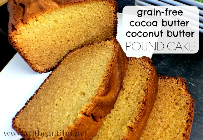 cocoa butter pound cake