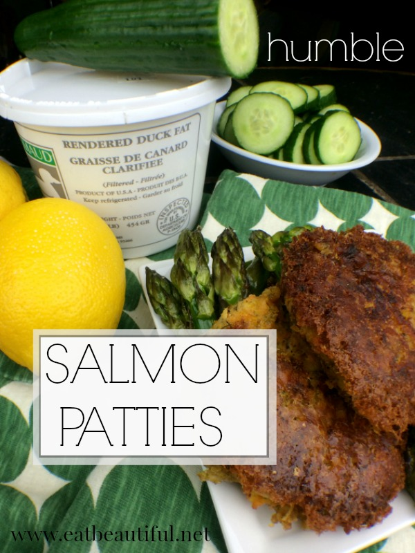 Paleo Gaps Whole30 Humble Salmon Patties Eat Beautiful