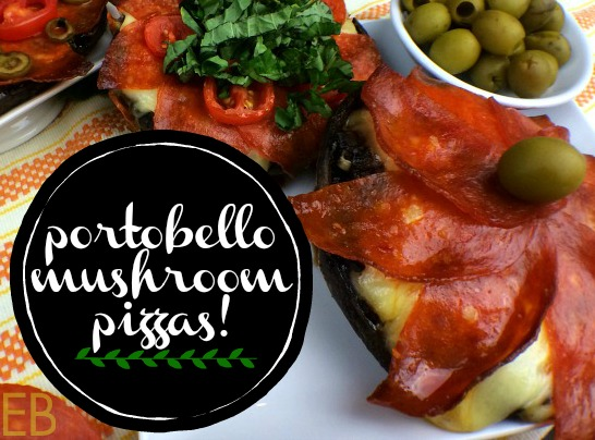 PORTOBELLO MUSHROOM PIZZA {Paleo, gluten-free, GAPS diet, kid-approved!}
