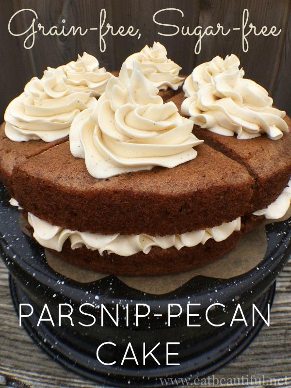 Parsnip Pecan Cake