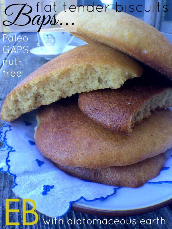 BAPS baked with diatomaceous earth