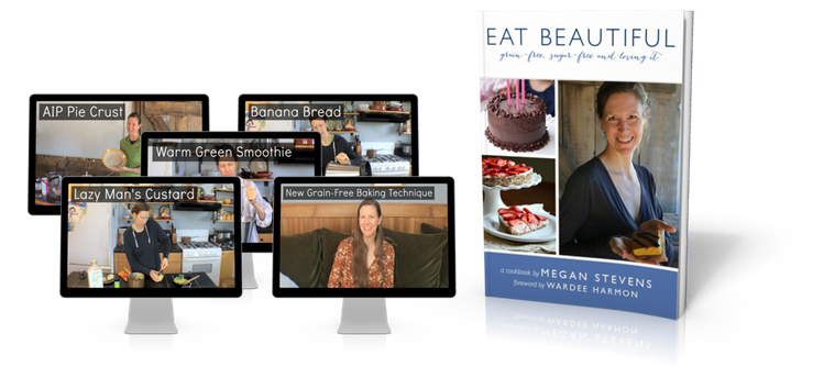 Eat Beautiful 5 Video Bonus Package with Book face left