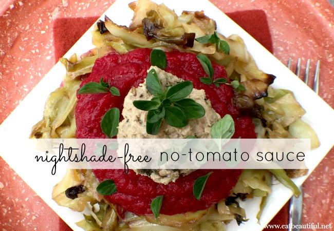 No-Tomato Sauce