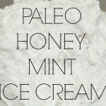 Paleo Honey Mint Ice Cream