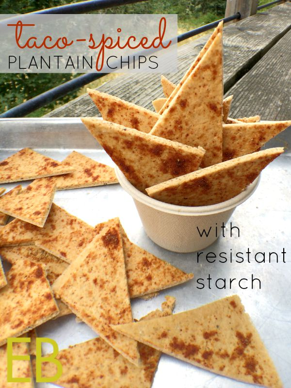 Taco or Curry Spiced Plantain Chips