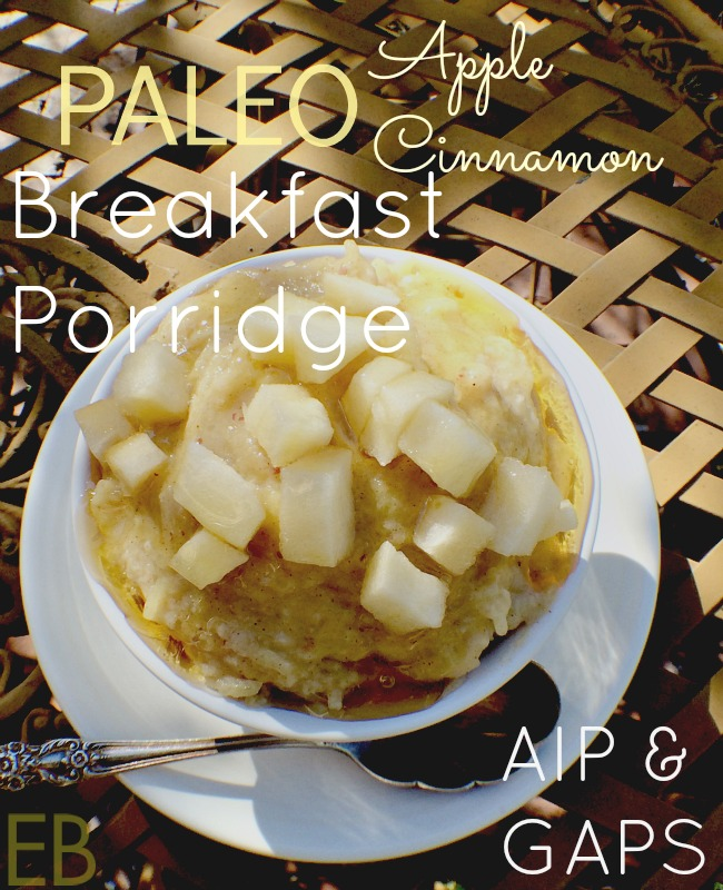 This AIP Breakfast Cereal tastes awesome, even to hubby who can eat anything; and all the kids can have it! Woot. But yep, these kinds of recipes are hard to come by. AIP says it all: grain-free, dairy-free, egg-free, refined-sugar-free! And yet, delicious!