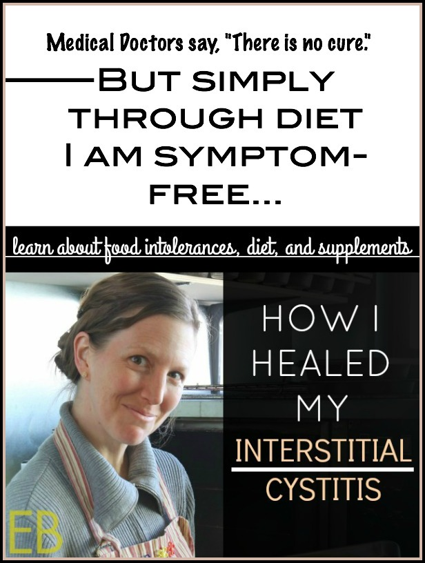 How I Healed My INTERSTITIAL CYSTITIS