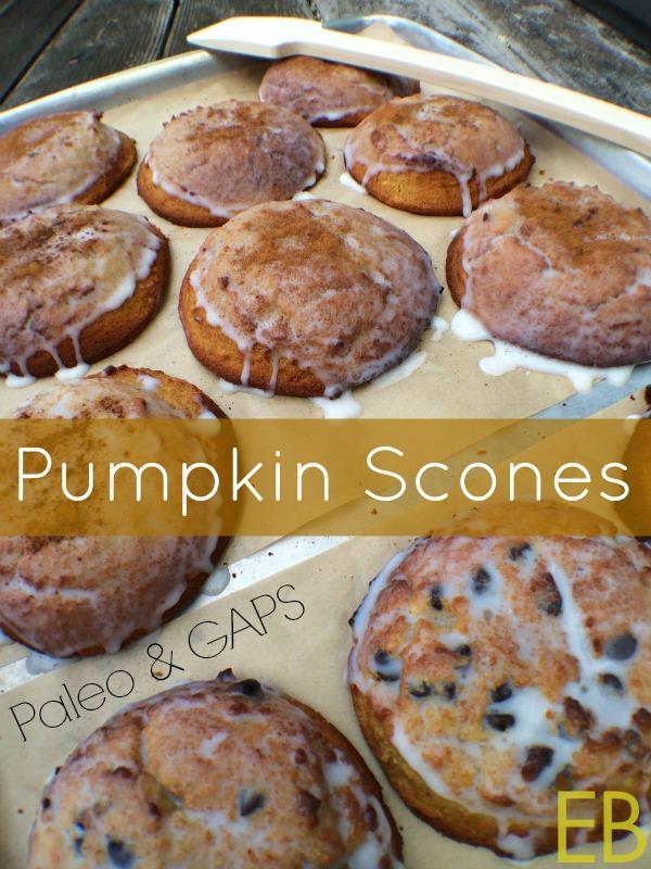 Pumpkin Scones Paleo GAPS