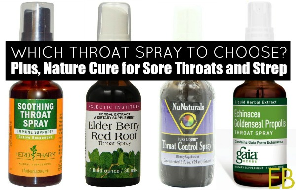 Nature Cure for Sore Throats & Which Throat Spray to Choose