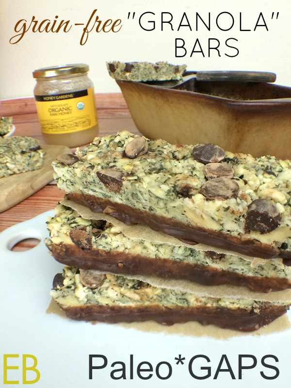 grain free granola bar gaps paleo
