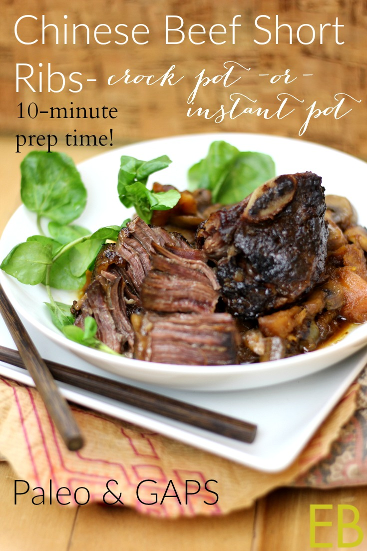 Paleo Chinese Food Crock Pot