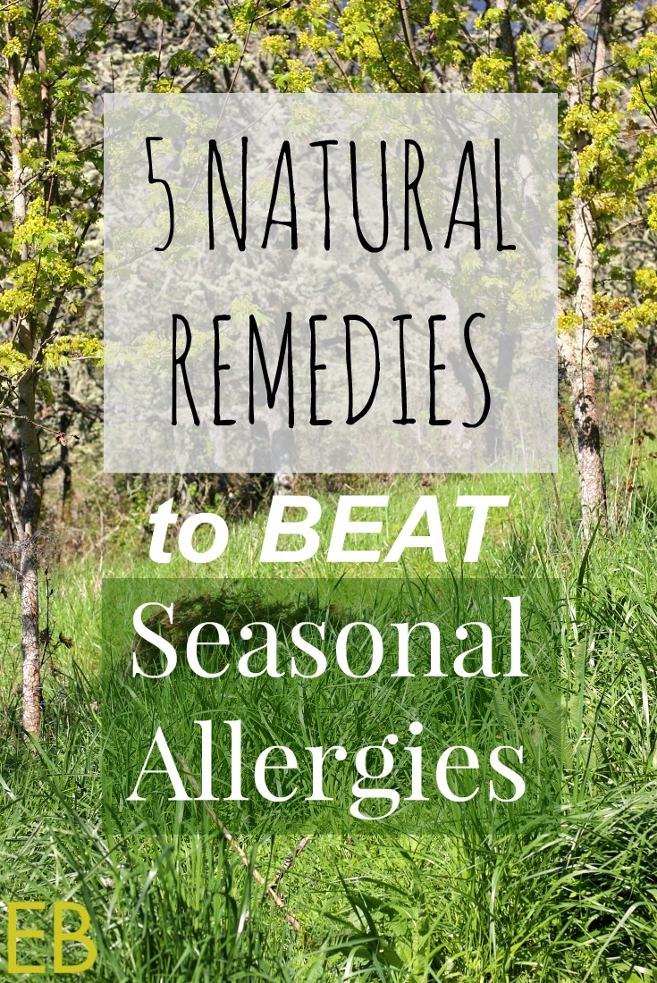 5 Natural Remedies for Seasonal Allergies- homeopathic and herbal