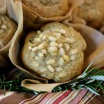 Rosemary-Pine Nut Muffins {with COCOA BUTTER}