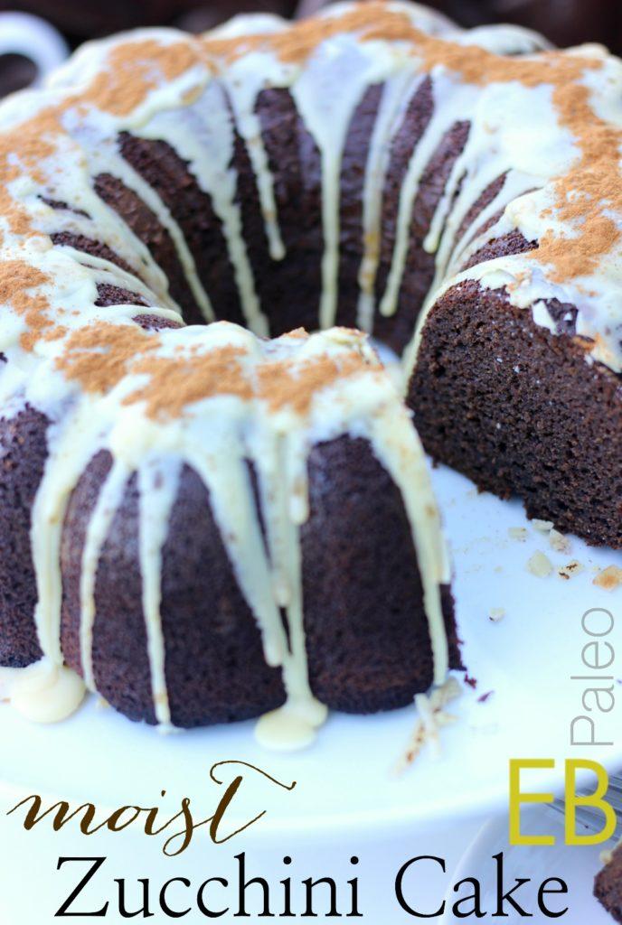 Moistest Zucchini Cake {Paleo}