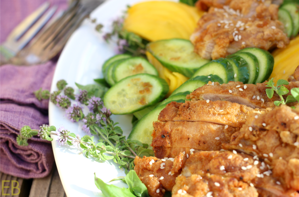 Vietnamese Fried Chicken Salad (Paleo)