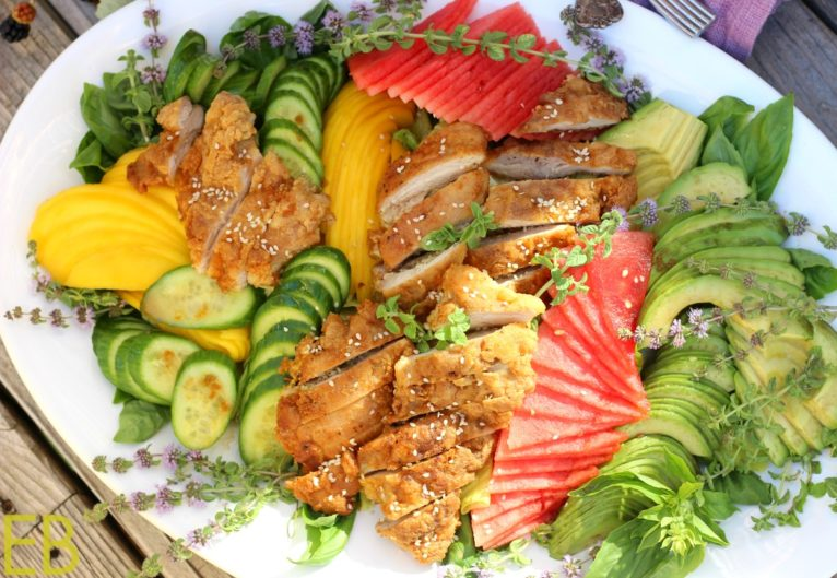 Vietnamese Fried Chicken Salad (Paleo)