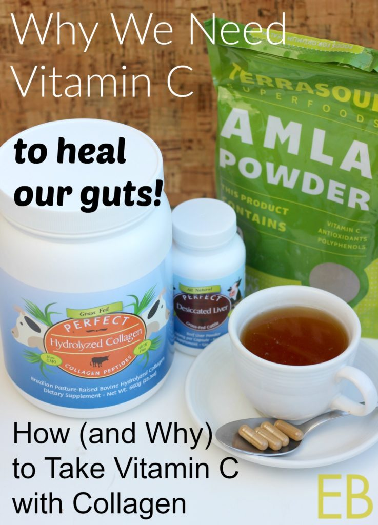 How (and Why) to Take VITAMIN C with COLLAGEN... to HEAL THE GUT ...