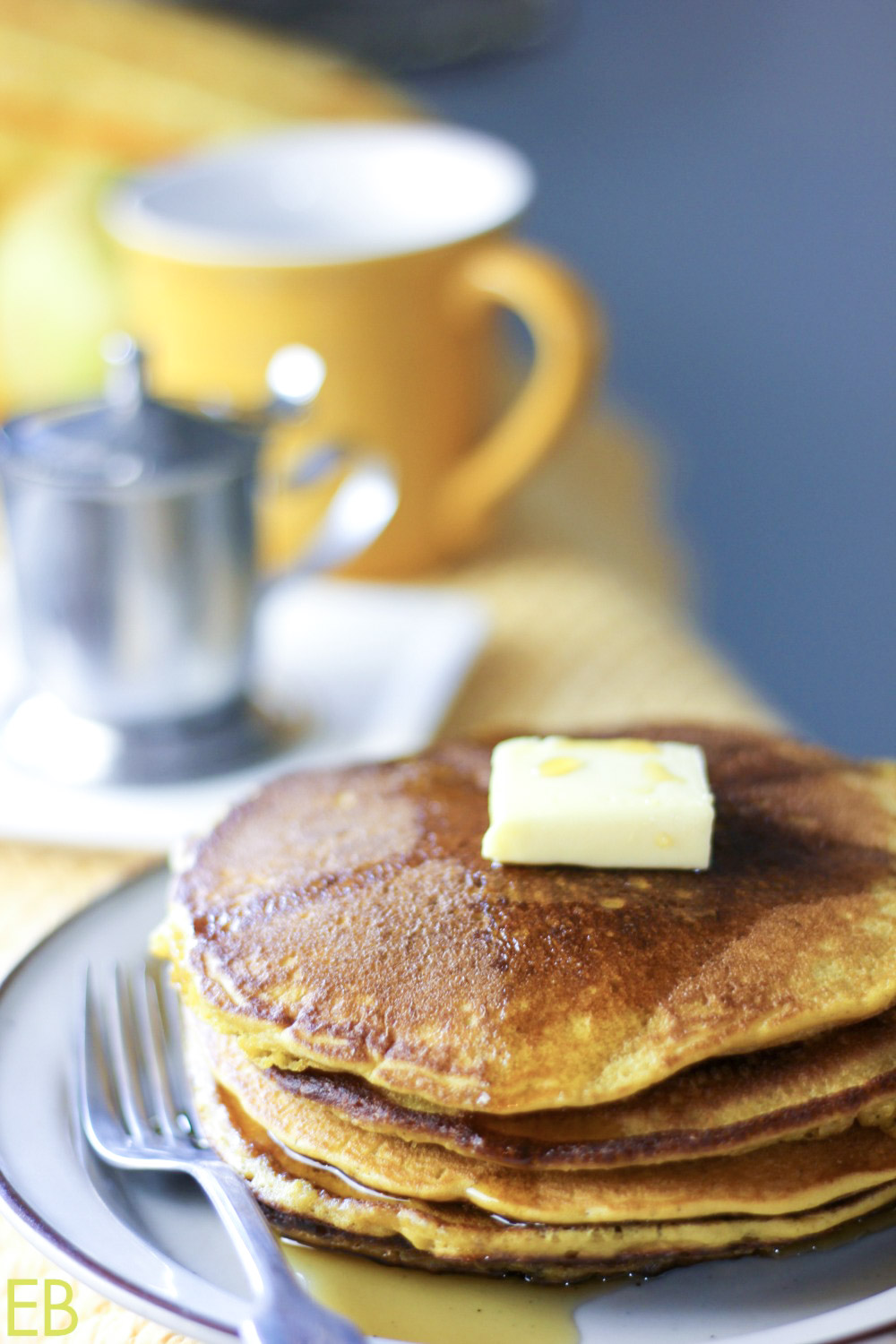 These are perfect pancake recipe you've been looking for! Paleo Pumpkin Pancakes are healthy with great protein, nourishing fat and complex carbs — great energy for all day, plus SOOO yummy! #paleo #pancakes #grainfree #pumpkin #ottoscassavaflour #cassava #glutenfree #breakfast
