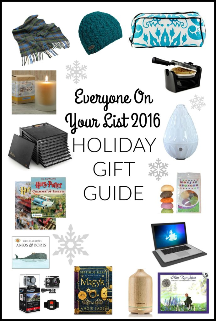 Everyone On Your List 2016 Holiday Gift Guide