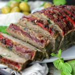 Greek Meatloaf with feta and mint {Paleo/Primal; grain-free}