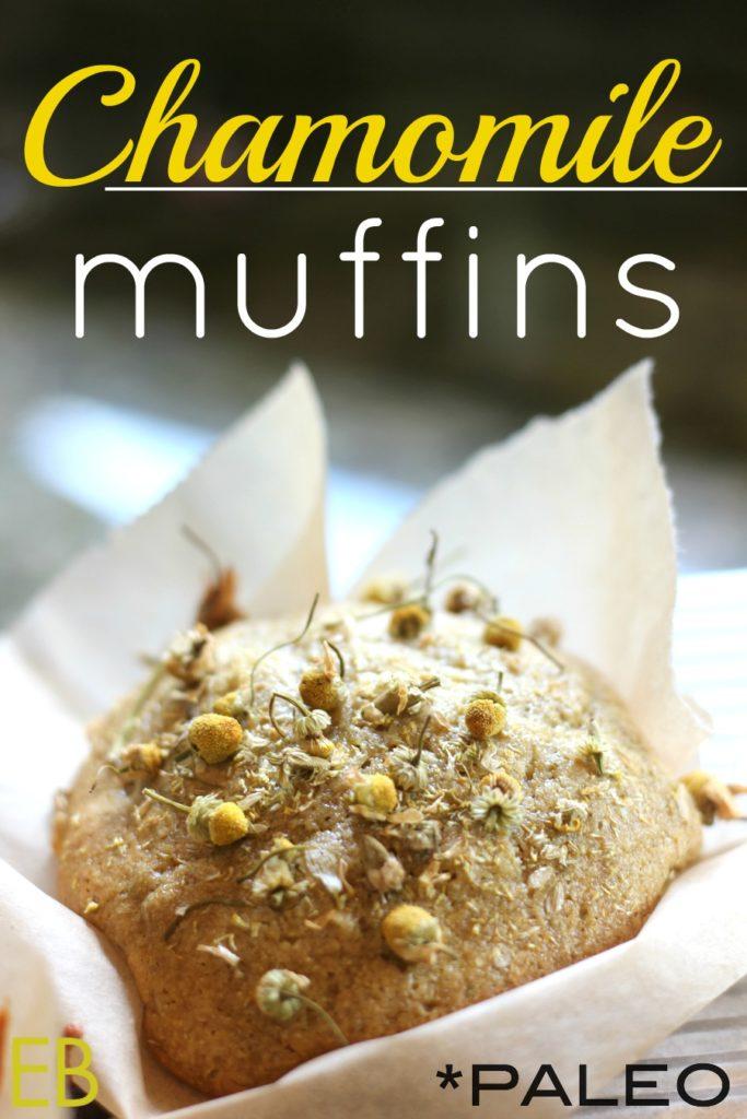 Chamomile Muffins {Paleo}