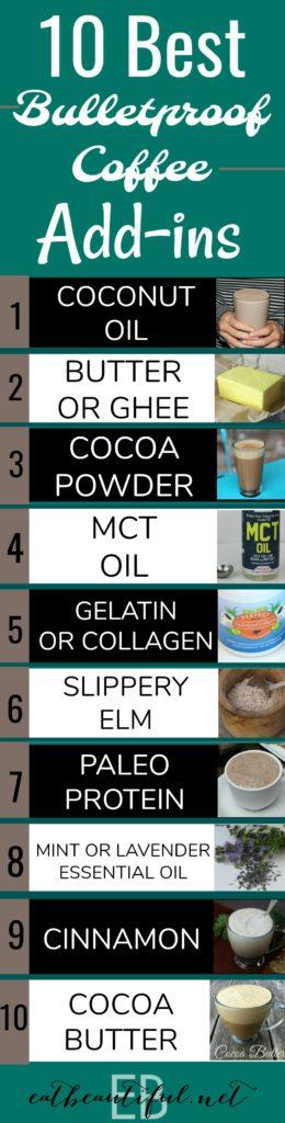 10 Best Bulletproof Coffee Add-ins
