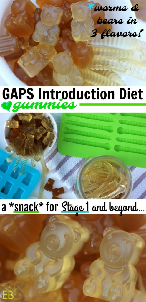 GAPS Introduction Diet GUMMIES!
