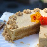 """AIP Pumpkin Cake {dairy-free, nut-free, egg-free} with AMAZING """"buttercream"""" frosting"""