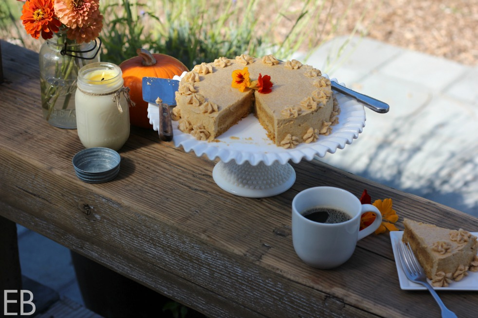 """AIP Pumpkin Cake {dairy-free, nut-free, egg-free} with AMAZING """"buttercream"""" frosting! (SO excited to finally have a great AIP cake and frosting recipe!!!)"""