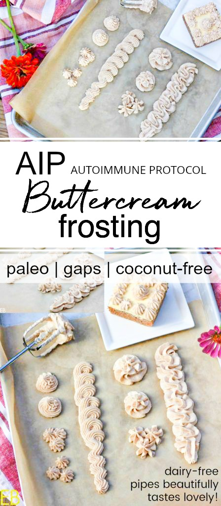 piped aip frosting